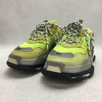 Balenciaga  40 Grn Leather Green Size 40 Fashion Sneakers 4020 From Japan Photo