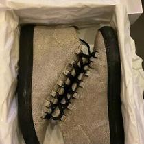 Balenciaga Arena High Top Green Stingray Leather Shoes Sneakers Sz 41 Photo