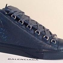 Balenciaga Arena Sneaker Embossed Rare Bleu Petrole Blue 40 41 43 Other Sizes Photo