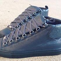 Balenciaga Arena Sneaker Embossed Rare Bleu Petrole Blue 40 41 43 Other Sizes Photo