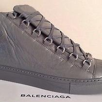 Balenciaga Arena Sneaker Embossed Rare Gris Grey 41 43 Gray Cotes Other Sizes Photo