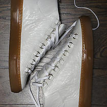 Balenciaga Arena Sneakers - Gum Bottom Soles - Size 39 - Brand New Extra Blanc Photo