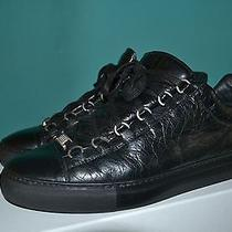 Balenciaga Authentic Black Arena Low Top Sneakers Size 42 Photo