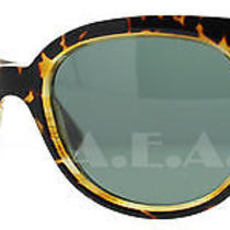 Balenciaga Bal 0137/s 69j Havana Horn Women's  Sunglasses Photo