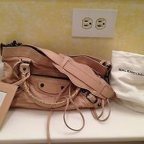 Balenciaga Beige Arena Perforated First Tote Sahara Beige Photo