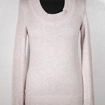 Balenciaga Beige Cashmere & Cotton Long Sleeve Jumper Sweater Size 36 Fr Mq Photo