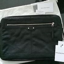 Balenciaga Black Laptop Case Photo