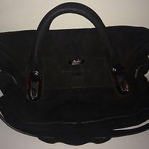 Balenciaga Black Suede Handbag Photo
