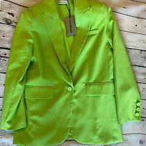 Balenciaga Blazer Jacket Studded With Logo on Back Size 38 Small Photo