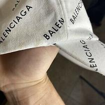 Balenciaga Cap Hat Stained Photo