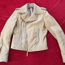 Balenciaga Carmal Moto Bike Leather Jacket Photo