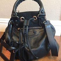 Balenciaga Chevre Mini Pompon Holiday Black Photo