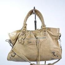 Balenciaga Classic Beige City Bag  Photo