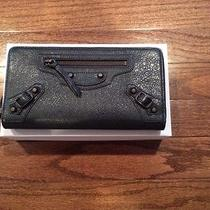 Balenciaga Classic Continental Wallet in Anthracite. New With Box Photo