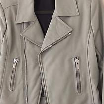 Balenciaga Classic Leather Motorcycle Jacket Size 44 Photo