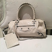 Balenciaga Classic White City Mini Never Worn Photo