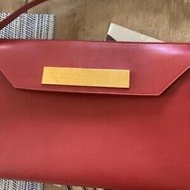 Balenciaga Clutch Bag With Strap Messenger Red Photo