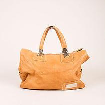 Balenciaga Cognac Textured Leather Tote Bag Photo