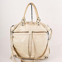 Balenciaga Cream Antiqued Leather Large Tote Bag W/shoulder Strap Photo