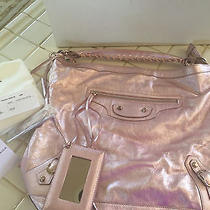 Balenciaga Day Metalic Pink Photo