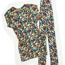 Balenciaga Edition 2004 Floral Dress With Sash Belt Size 40 Fr Ghesquiere Scarf Photo