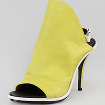 Balenciaga Glove Sandal Lime Sz It 38 1/2 / Us 8 1/2 725 Photo
