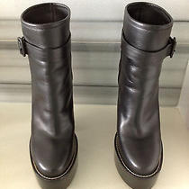 Balenciaga Leather Boots. Original Price 1155 Photo