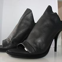 Balenciaga Leather Glove Sandal - Black Brand New  Photo
