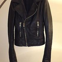 Balenciaga Leather Jacket Photo
