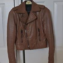 Balenciaga Leather Motorcycle Jacket Photo