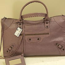 Balenciaga Light Purple Work Photo