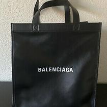 Balenciaga Logo Market Shopper Tote Nwt Retail 1750 Photo