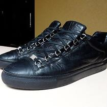 Balenciaga Low Top Arena Black Size 44 Eu 12 Us Photo