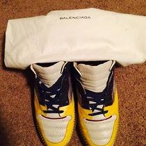 Balenciaga Lowtop Panelled Sneakers Photo