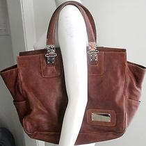 Balenciaga Mahogany-Colored Leather Handbag Photo