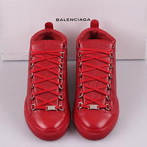 Balenciaga Men's Leather Low-Top Sneaker Boots Shoes Photo