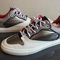 Balenciaga Mens Low Top Trainer Sneaker Arena 42 Pleated Multi Material Olympic Photo