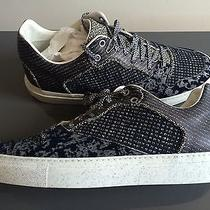 Balenciaga Mens Low Top Trainer Sneaker Arena 42 Pleated Multi Material Suede Photo