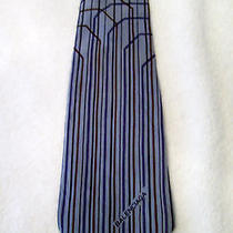 Balenciaga Mens Tie Vintage Neck Art Photo