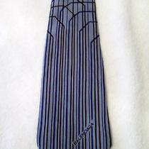Balenciaga Mens Tie Vintage Neck Art Photo