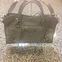 Balenciaga Metallic Silver Handbag  Photo