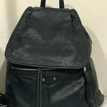 Balenciaga Navy Arena Classic Arena Leather Backpack Photo