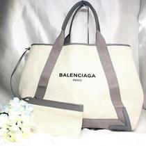 Balenciaga Navy Kabas Tote Bag Gray M Photo