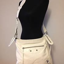 Balenciaga Off White Moto Bag  Photo