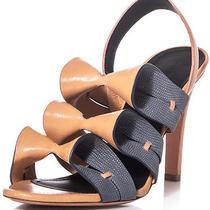 Balenciaga Origami Melon Mist and Graphite Sandals Size 38/ Us 7 Photo