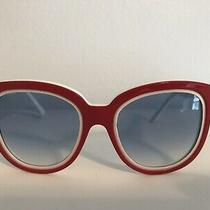 Balenciaga Paris Bal0106/s Sunglasses 53-21-135 Red Rare Photo