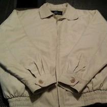 Balenciaga Paris Bomber Jacket Beige Mens Size Xl High End Fashion Vintage  Photo