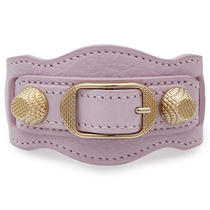 Balenciaga Pink Giant Gold Bracelet Photo