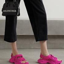 Balenciaga Pink Track Sandals Sneakers Size 38 Photo