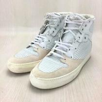 Balenciaga Pleated High Top Sneakers 40 Wht Storage Bags Yes Size Us 7 Sneaker Photo